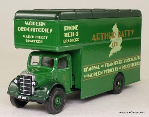 Corgi 1:50 Bedford O Series Pantechnicon: Arthur Batty Ltd. Removals