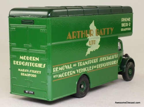 Corgi 1:50 Bedford O Series Pantechnicon: Arthur Batty Ltd. Removals