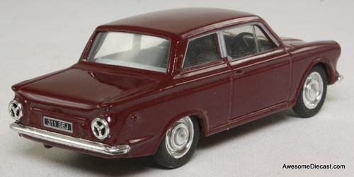 Corgi 1:43 1963 Ford Cortina MK1, Maroon