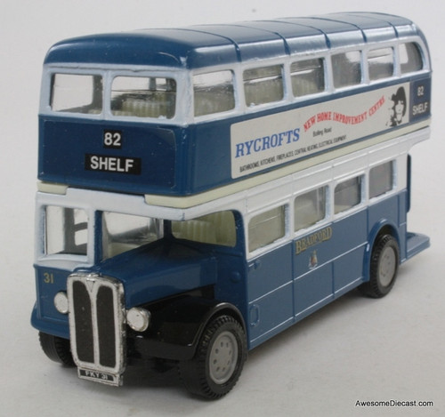 Corgi 1:50 AEC Regent Bus, Blue 'Bradford City Transport'