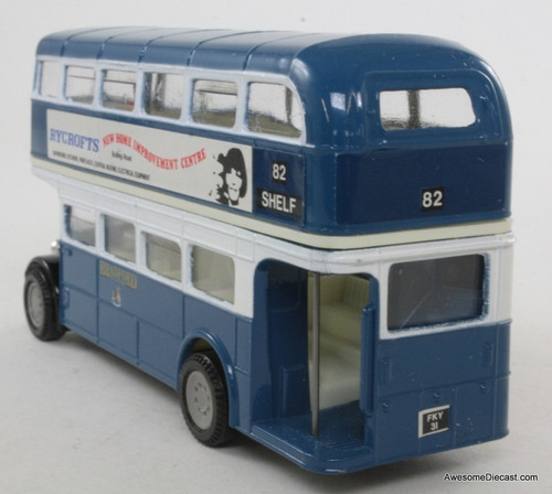 Corgi 1:50 AEC Regent Bus, Blue 'Bradford City Transport'