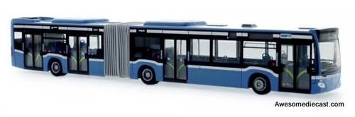Rietze 1:87 2015 Mercedes Citaro G Articulated Bus: MVG Munich
