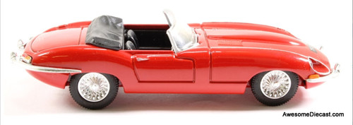 Corgi 1:43 Jaguar E Type Convertible, Red