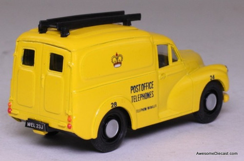 Corgi 1:43 Morris Minor 1000 Van, Yellow 'Post Office Telephones'