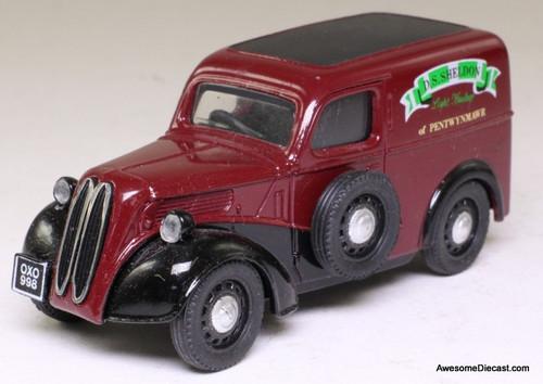 Corgi 1:43 Ford Popular Van, Maroon
