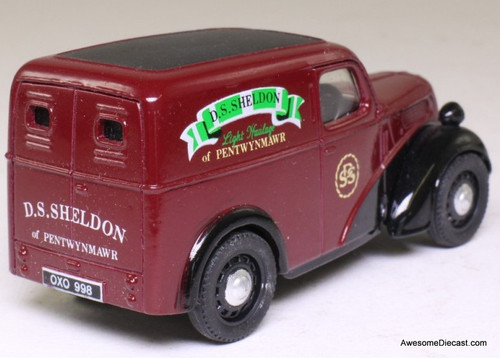 Corgi 1:43 Ford Popular Van, Maroon