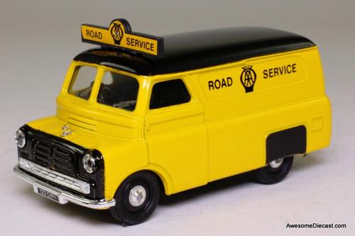 Corgi 1:43 Bedford CA Van, Yellow 'Road Service'