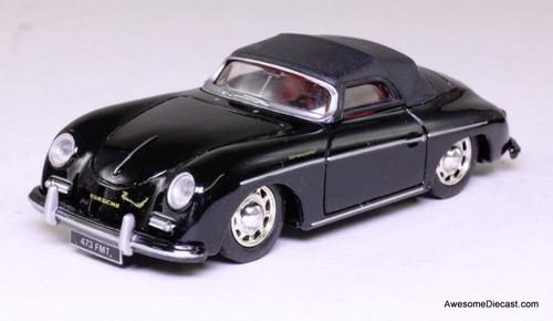 PORSCHE 356 B CABRIO 1:24 Scale Diecast Car Model Die Cast Models Cabrio Black