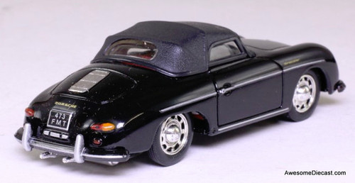 Corgi 1:43 Porsche 356B Convertible, Black