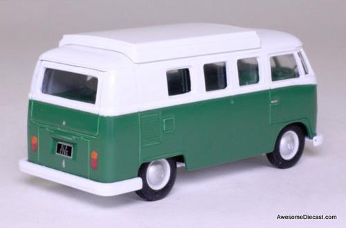 Corgi 1:43 Volkswagen Camper Van, Green/White