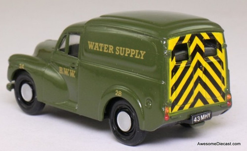 Corgi 1:43 Morris Minor 1000 Van, Green 'B.B.W. Water Supply'