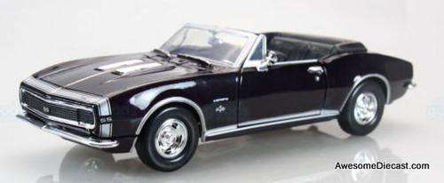 Motor Max 1:24 1967 Chevrolet Camaro SS Convertible, Black
