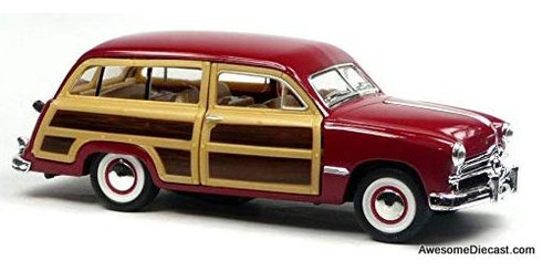 Arko 1:32 1949 Ford Station Wagon, Red
