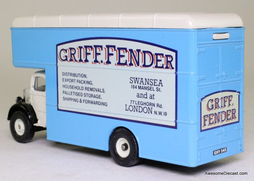Corgi 1:50 Bedford O Series Pantechnicon: Griff Fender Removals