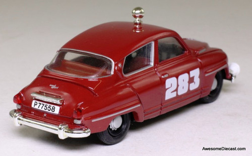Corgi 1:43 Saab 96, Red 'Rally Car'