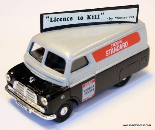 Corgi 1:43 Bedford CA Van, Gray 'Evening Standard'