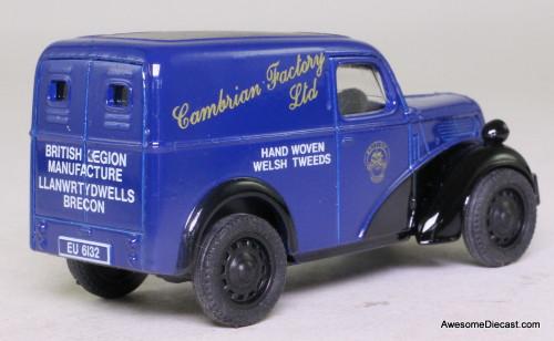 Corgi 1:43 Ford Popular Van, Blue 'Cambrian Factory Ltd'