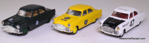 Corgi 1:43 Ford Zephyr Racing Set