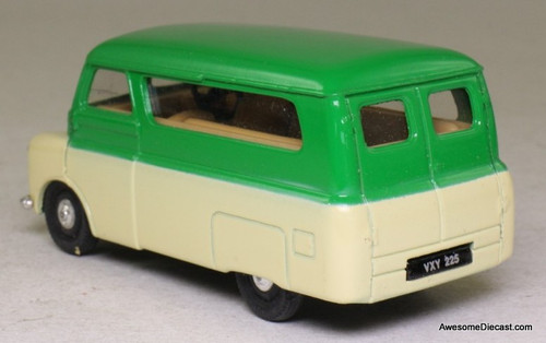 Only One! Corgi 1:43 Bedford CA Dormobile, Green/White