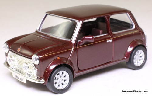 Corgi 1:36 Mini, Mulberry Red '40th Anniversary'