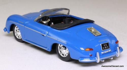 Corgi 1:43 Porsche 356 Convertible, Blue