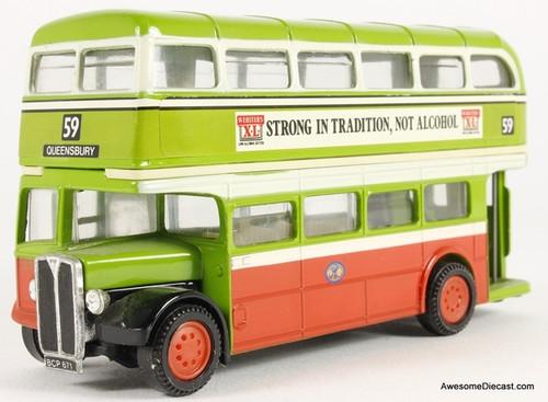 Only One! Corgi 1:76 1950 AEC Regent 'Halifax JOC'