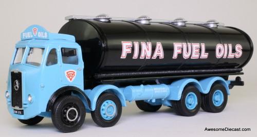 Corgi 1:50 Atkinson Elliptical Tanker, Blue 'Fina Fuel Oils'