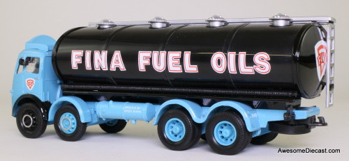 Corgi 1:50 Atkinson Elliptical Tanker, Blue 'Fina Fuel Oils'