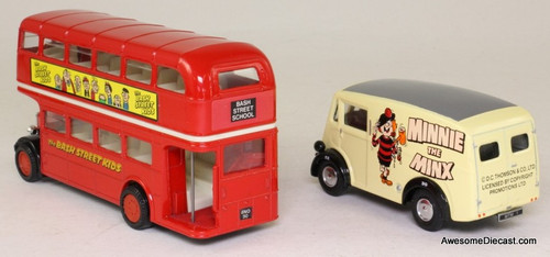Corgi Morris J Van & AEC Bus 'The Bash Street Kids'