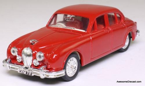 Corgi 1:43 1969 Jaguar MK2, Red