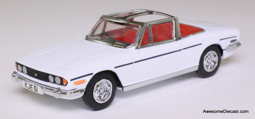 Dinky 1:43 Triumph Stag Convertible, White