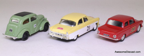Corgi 1:43 Rallying With Ford 3 Car Set