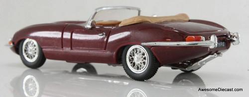 Corgi 1:43 Jaguar E Type Convertible, Maroon