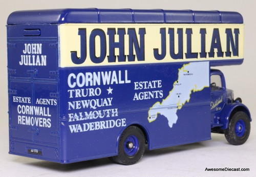 Corgi 1:50 Bedford O Series Pantechnicon, 'John Julian Removals'