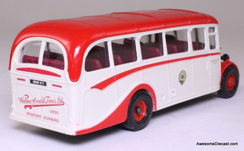 Corgi 1:50 Bedford Type OB Coach, Red/White 'Wallace Arnold Of Leeds'