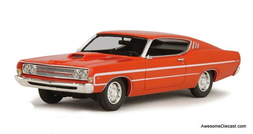 Goldvarg Collection 1:43 1969 Ford Torino, Calypso Coral