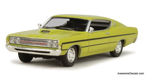 Goldvarg Collection 1:43 1969 Ford Torino, Yellow