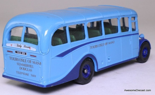 Corgi 1:50 Bedford Type OB Coach, Blue 'Isle Of Man Tours'