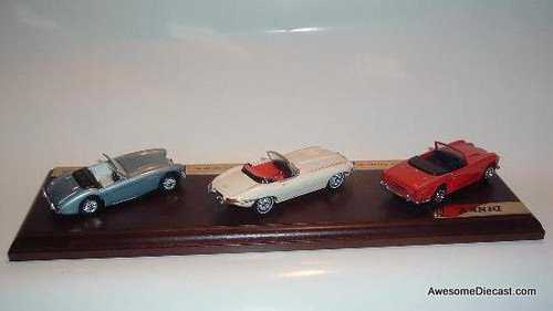 Only One! Dinky 1:43 Classic British Sports Cars, 3 Car Set