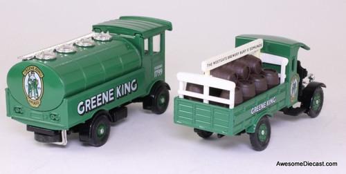 Corgi AEC Cabover & Thornycroft Barrell Dray 'Greene King'
