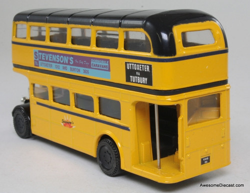 Corgi 1:64 AEC Double Decker Bus: Stevensons, Yellow
