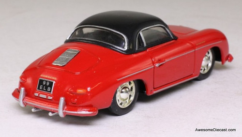 Corgi 1:43 Porsche 356B Convertible, Red