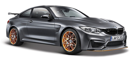 Maisto 1:24 BMW M4 GTS, Flat Gray Metallic