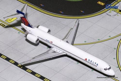 Gemini Jets 1:400 McDonnell Douglas MD-90: Delta