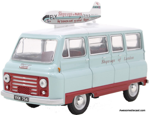 Oxford 1:43 Morris J2 Van: Skyways of London