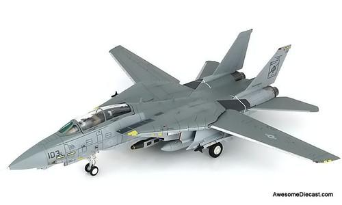 Hobby Master 1:72 F-14A Tomcat USN VF-41 Black Aces AJ103 Delores USS Enterprise