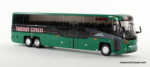 Iconic Replica 1:87 MCI D45 CRT LE Transit Bus: AC Transit San Francisco 87-0099