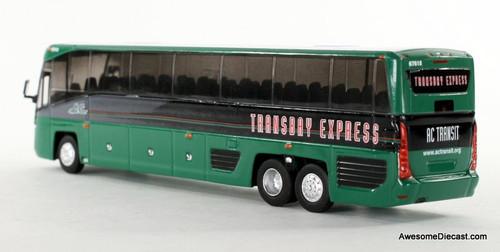 Iconic Replica 1:87 MCI D45 CRT LE Transit Bus: AC Transit San Francisco