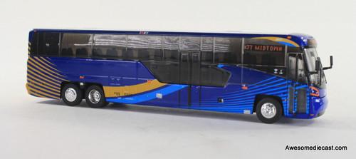 Iconic Replica 1:87 MCI D45 CRT LE Transit Bus: MTA NYC - Midtown