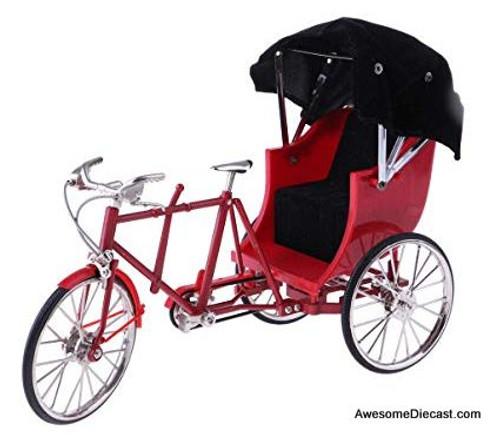 1:10 3 Wheel Rickshaw, Red